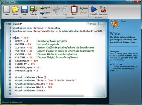 microsoft small basic 1 2 developer programming