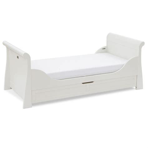 Silver Cross Nostalgia Sleigh Cot Bed Silver Cross Nostalgia Sleigh Cot Bed Bubs N Grubs