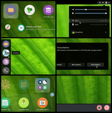 gnome themes more novashell gnome shell theme by utivis on deviantart