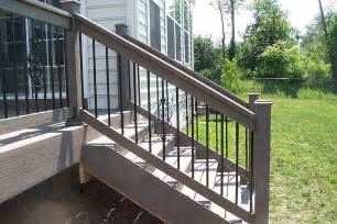 decks and railings deck railings pictures custom deck railing spindles and
