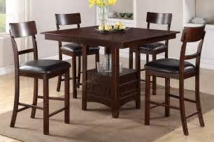 High Dining Room Tables And Chairs High Chair Counter Height Chairs Dining Room Furniture Showroom Categories Poundex