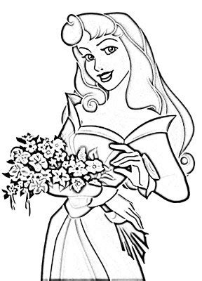Disney Princess Coloring Pages For Kids Princess Hello Coloring Pages