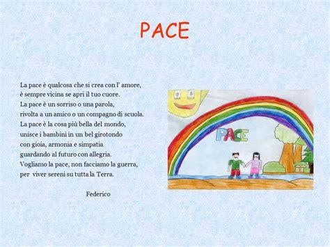 testi sulla pace immagini poesie pensieri riflessioni sulla pace ppt