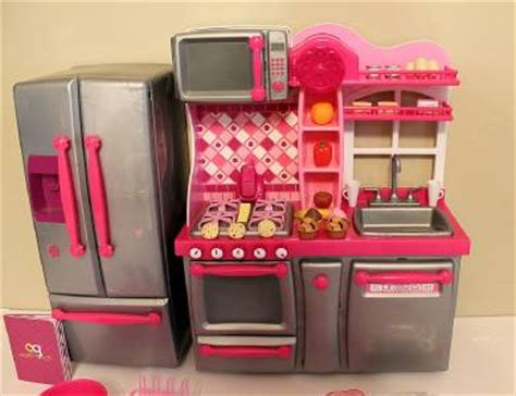 Our Generation Kitchen Set Complete With Accessories Euc Our Generation Kitchen Set