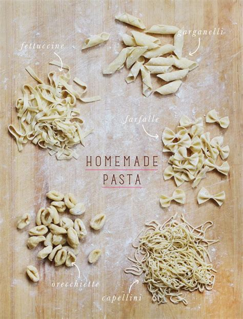 Handmade Pasta Shapes - pasta shapes 10 handpicked ideas to discover in other