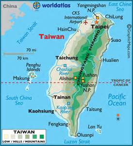 World Map Taiwan by Taiwan Map Colouring Pages