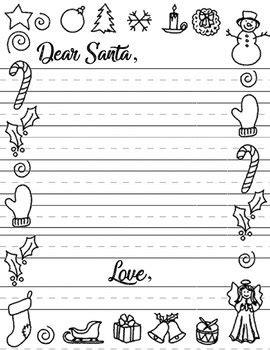 dear santa letter template jaclyn daily teachers pay