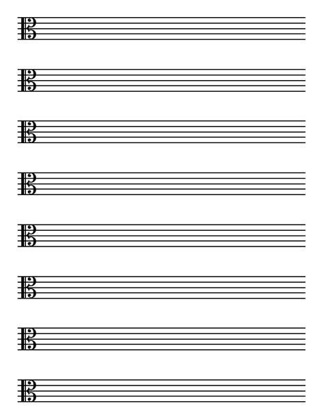 printable music paper free printable blank music staff paper sjan info