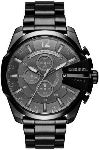 Diesel Mega Chief Gold White s black diesel mega chief chronograph dz4355