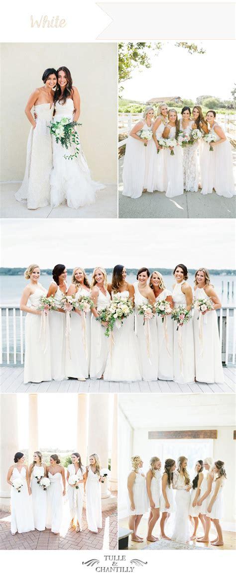 ten wedding colors for summer bridesmaid dresses 2016