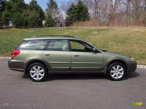 2006 subaru outback willow green opalescent 2006 subaru outback 2 5i limited
