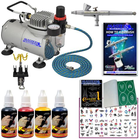 airbrush tattoo kit part abd kit tat 20