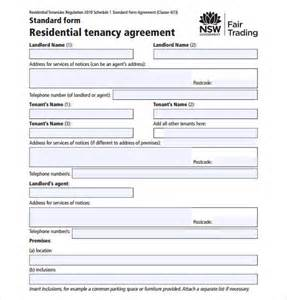 standard tenancy agreement template sample residential rental agreement 12 examples amp format standard tenancy agreement template sampletemplate123