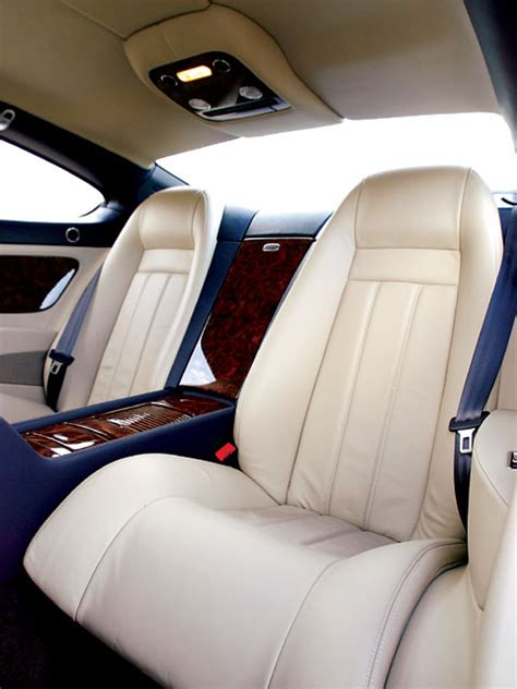 bentley continental interior back seat bentley coupe interior