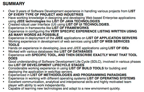 Worst Resumes by The Worst Developer Resume In The World Tips For Geeks