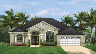 Florida Style by Mediterranean Modern Home Plans Florida Style Designs