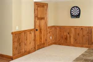 tongue and groove wainscoting 3 panel knotty pine interior door with 1x8 tongue groove