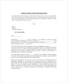 Acceptance Letter Of Company Sle Internship Acceptance Letter 6 Documents In Pdf Word