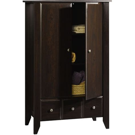 sauder shoal creek armoire jamocha 17 best images about sauder brown harbor view from