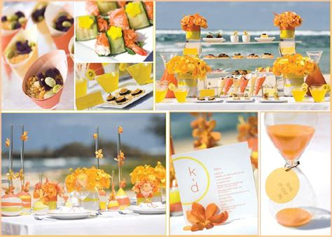 Enjoy the heat with some cool wedding theme ideas for summer