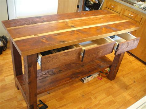 rustic reclaimed wood kitchen island ideas the clayton reclaimed barn wood kitchen island the clayton design