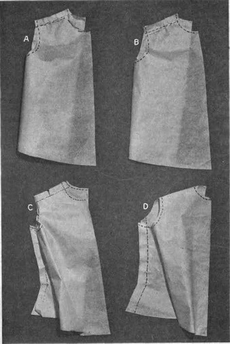 pattern making and garment construction books testing shirtwaist pattern part 2