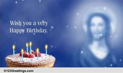 Religious Birthday Wish. Free Birthday Blessings eCards