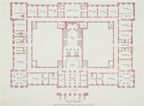 buckingham palace floor plan two plans of richmond palace royal collection trust
