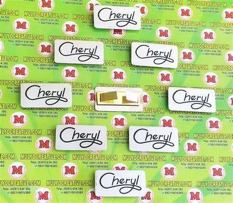 Harga Tas Merk Quincy Label jual label merk tas dari bahan logam stainless dan