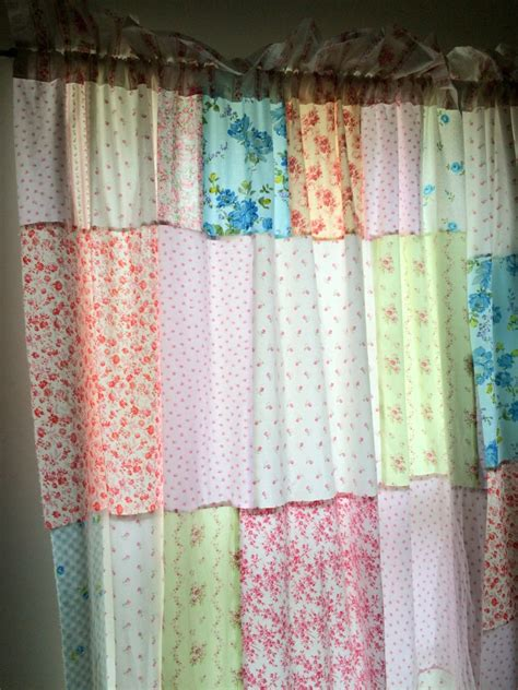 how to make shabby chic curtains easy diy tutorial