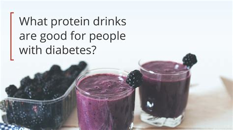 protein drinks for 8 protein shakes and smoothies for diabetics