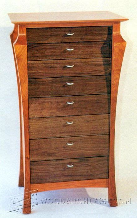 cherry chest of drawers plans a graceful chest of drawers plans furniture plans and