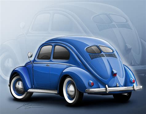blue volkswagen beetle for image gallery 1948 volkswagen