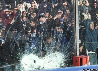 Kaos Lazio Year news in pictures in pictures italian fans on rage