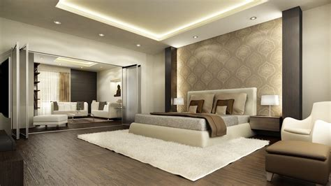 master bedroom ceiling dark brown wooden low profile bed modern master bedroom