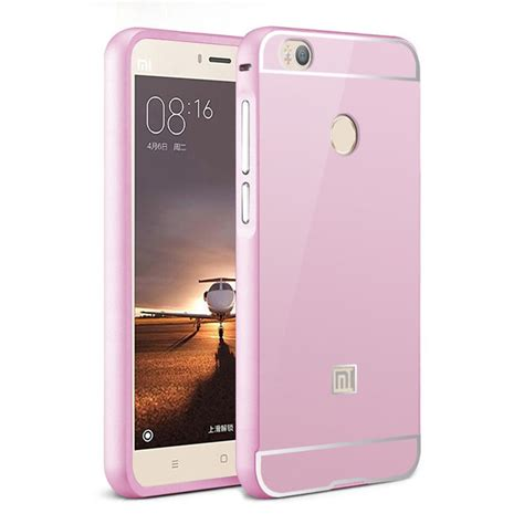 xiaomi mi4s metal frame back cover protective pink 13537 6 99 smartphone