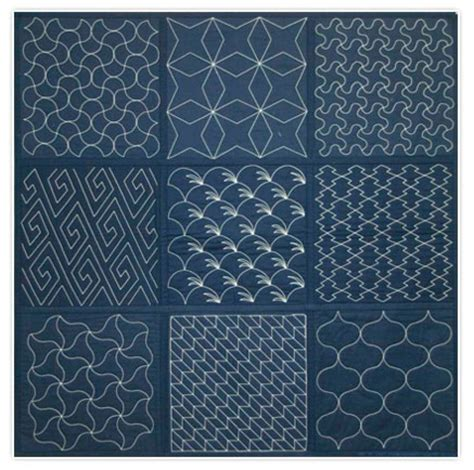 pattern library indigo 35 best sashiko quilting images on pinterest japanese