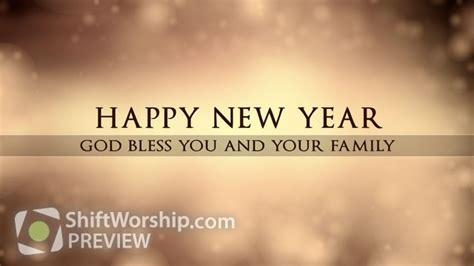 happy new year gold shift worship