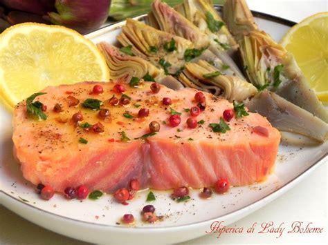 lade di sale rosa hiperica di boheme ricetta salmone al pepe rosa con