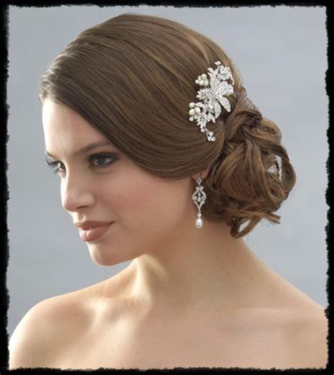 Hair Accessories For Wedding by J S Fashion Wedding Gown Bridal Hairstyle And