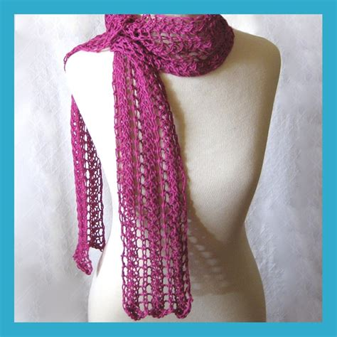 zigzag lace scarf pattern zig zag scarf knitting pattern images frompo 1