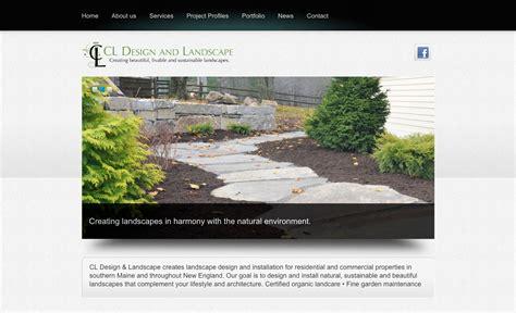 Wood And Company A Portland Maine Graphic Design Website Landscape Design Website