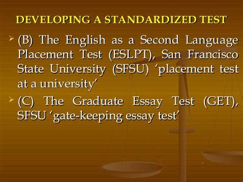 Standardized Testing Essay by Essay On Standardized Testing In Education