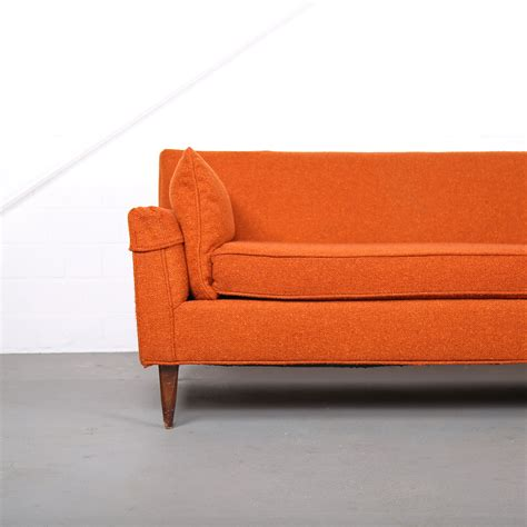 modern vintage sofa mid century modern vintage 3 seater sofa usa dunbar attr