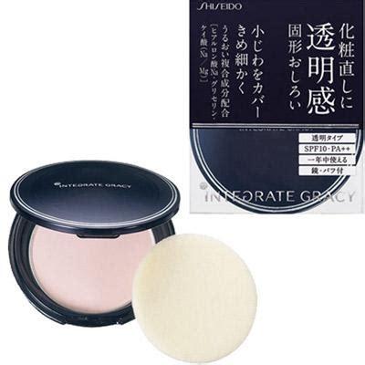 New Shiseido Integrate Gracy Powder Foundation All Seasons Spf22 Pa new shiseido integrate gracy translucent pressed powder with compact spf10 pa ebay