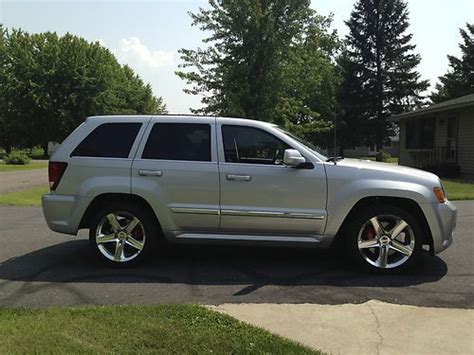 how cars run 2010 jeep grand cherokee user handbook purchase used 2010 jeep grand cherokee srt8 only 6 350 miles in chippewa falls wisconsin