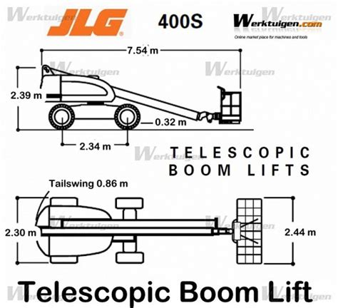 jlg  jlg machinery specifications