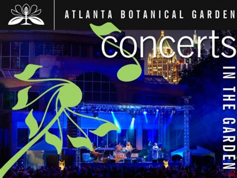 Atlanta Botanical Gardens Concerts by Four Tops Indigo Loretta Headed To Gainesv