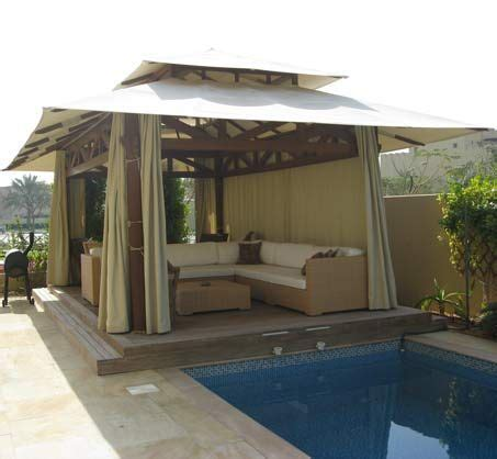 gazebo canvas gazebo canvas roof rectangular size pool side gazebo