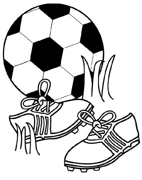 Soccer Fun Coloring Page Crayola Com Soccer Color Pages